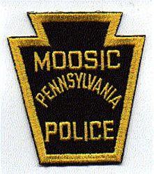 Moosic Police Patch (PA)