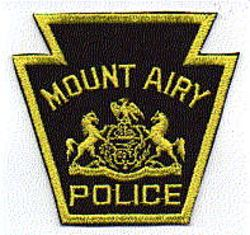 Mt. Airy Police Patch (PA)