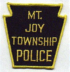 Mt. Joy Twp. Police Patch (PA)