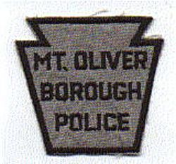 Mt. Oliver Borough Police Patch (PA)