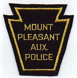 Mt. Pleasant Aux. Police Patch (PA)