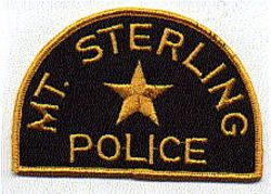 Mt. Sterling Police Patch (PA)