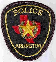 Arlington Police Patch (TX)
