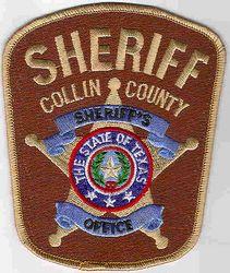 Sheriff: TX. Collin Co. Sheriffs Dept. Patch