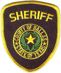 Sheriff: TX. Dallas Co. Sheriffs Dept. Patch (small)