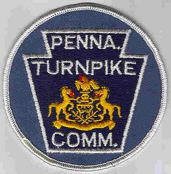 Turnpike Commission Patch (round) (PA)