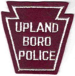 Upland Boro Police Patch (PA)