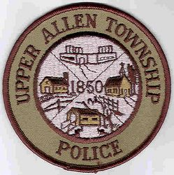 Upper Allen Twp. Police Patch (PA)