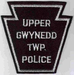 Upper Gwynedd Twp. Police Patch (felt) (PA)