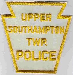 Upper Southampton Twp. Police Patch (yellow/white) (PA)