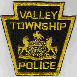 Valley Twp. Police Patch (PA)