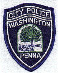 Washington Police Patch (PA)
