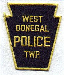 West Donegal Twp. Police Patch (PA)