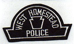 West Homestead Police Patch (PA)