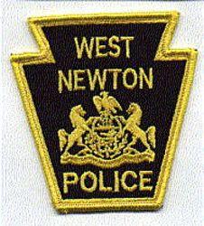 West Newton Police Patch (keystone) (PA)