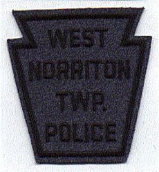 West Norriton Twp. Police Patch (felt) (PA)