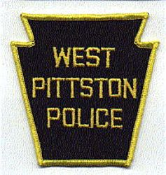 West Pittston Police Patch (PA)