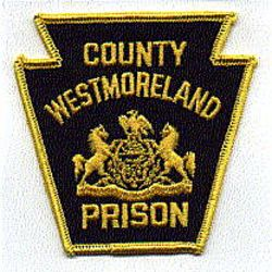 Westmoreland Co. Prison Patch (black/yellow) (PA)