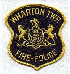 Wharton Twp. Fire Police Patch (PA)