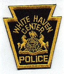 White Haven Ctr. Police Patch (PA)