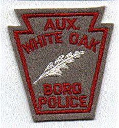 White Oak Boro Aux. Police Patch (PA)