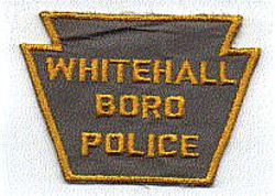 Whitehall Boro Police Patch (yellow edge) (PA)