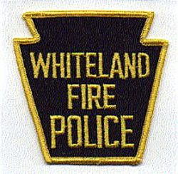 Whiteland Fire Police Patch (PA)