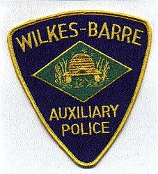 Wilkes-Barre Aux. Police Patch (PA)