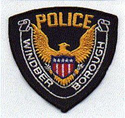 Windber Boro Police Patch (PA)