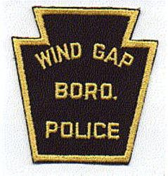 Wind Gap Boro Police Patch (twill) (PA)