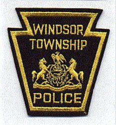 Windsor Twp. Police Patch (felt) (PA)