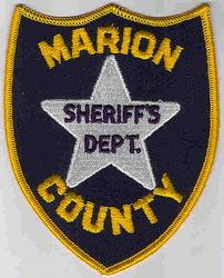 Sheriff: SC. Marion Co. Sheriffs Dept. Patch