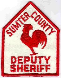 Sheriff: SC. Sumter Co. Deputy Sheriff Patch