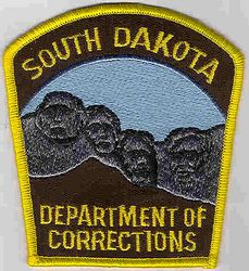 Dept. of Corrections Patch (SD)