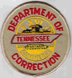 Dept. of Correction Patch (TN)