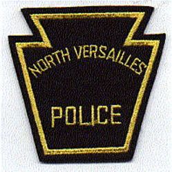 North Versailles Police Patch (felt) (PA)