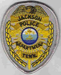 Jackson Police Patch (badge patch) (TN)