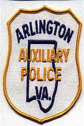 Arlington Aux. Police Patch (VA)