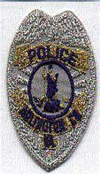 Arlington Co. Police Patch (cap badge, silver) (VA)