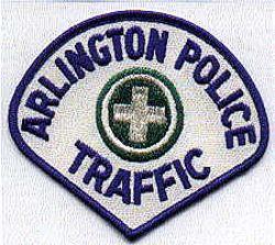Arlington Traffic Police Patch (VA)