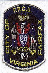 Fairfax City F.P.C.U. Patch (VA)