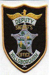 Sheriff: FL, Hillsborough Deputy Sheriffs Office Patch (large)