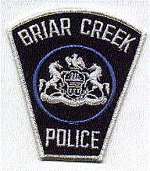 Briar Creek Police Patch (PA)