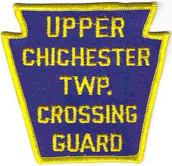 Upper Chichester Twp. Crossing Guard Patch (PA)