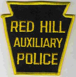 Red Hill Aux. Police Patch (PA)