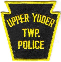 Upper Yoder Twp. Police Patch (PA)