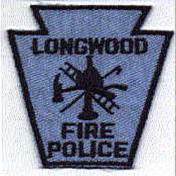Longwood Fire Police Patch (PA)