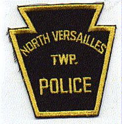 North Versailles Twp. Police Patch (black/gold) (PA)
