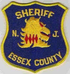 Sheriff: NJ, Essex Co. Sheriffs Dept. Patch (shield shape/righ)