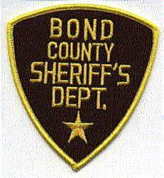 Sheriff: IL, Bond Co. Sheriffs Dept. Patch